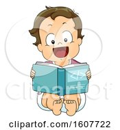 Kid Toddler Boy Programming Book Illustration