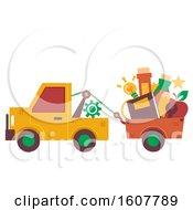 Truck Pull Education Illustration