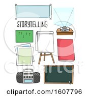 Story Telling Materials Illustration
