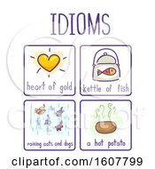 Idioms Elements Samples Illustration
