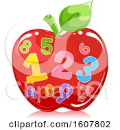 Apple Number Illustration