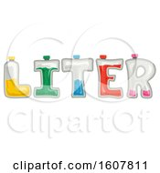 Liter Lettering Illustration