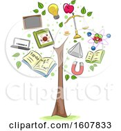 Physics Tree Elements Illustration