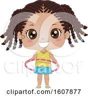 Kid Girl Hula Hoop Illustration by BNP Design Studio