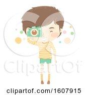 Kid Boy Camera Picture Illustration