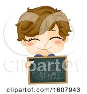 Kid Boy Storytelling Chalk Board