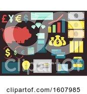 Banking Elements Illustration