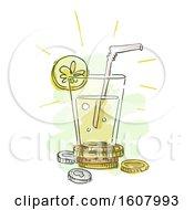 Lemonade Stand Business Illustration