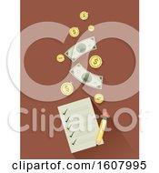 Money Checklist Illustration