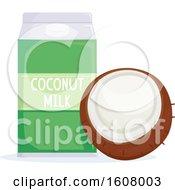 Coconut Milk Illustration