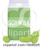 Soy Milk Illustration by BNP Design Studio