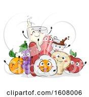 Mascot Breakfast Illustration