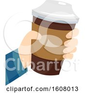 Coffee Hand Illustration
