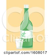 Soju Shot Glass Illustration