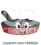 Poster, Art Print Of Mascot Frying Pan Illustration