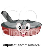 Mascot Frying Pan Illustration