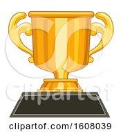 Achiever Trophy Gold Illustration