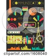 Broadcast Communication Elements Illustration