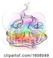Meditation Design Illustration