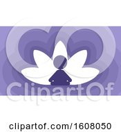 Poster, Art Print Of Meditation Lotus Illustration