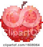 Apple Pixel Art Illustration
