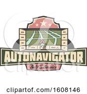 Poster, Art Print Of Car Navigation Design