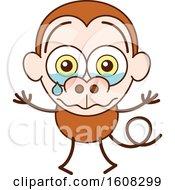 Cartoon Crying Monkey