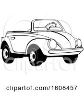 Black And White Toy Slug Bug Vw Volkswagen Car
