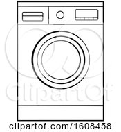 Lineart Front Loader Washing Machine