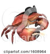 September 18th, 2018: Clipart Of A 3d Crab On A White Background Royalty Free Illustration by Julos