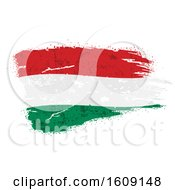 Clipart Of A Torn And Distressed Hungarian Flag Royalty Free Vector Illustration