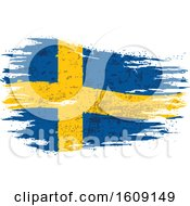 Clipart Of A Torn And Distressed Sweden Flag Royalty Free Vector Illustration by dero