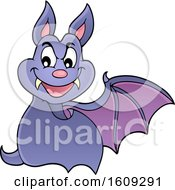 Flying Vampire Bat