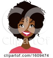 Beautiful Black Woman With An Afro
