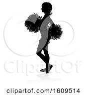 Cheerleader Pom Poms Silhouette