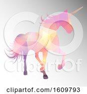 Poster, Art Print Of Low Poly Unicorn Design