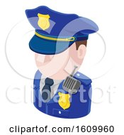 Police Man Avatar People Icon