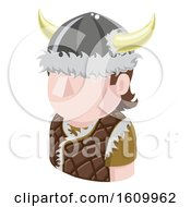 Viking Avatar People Icon by AtStockIllustration