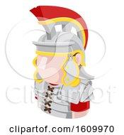 Roman Soldier Avatar People Icon