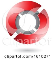 Red Futuristic Sphere