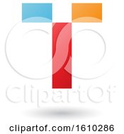 Clipart Of A Letter T Royalty Free Vector Illustration