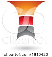 Clipart Of A Layered Letter T Royalty Free Vector Illustration