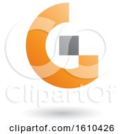 Orange And Gray Letter G