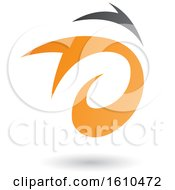 Poster, Art Print Of Orange And Gray Twister