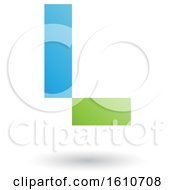 Clipart Of A Letter L Royalty Free Vector Illustration