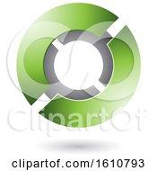 Green And Gray Futuristic Sphere