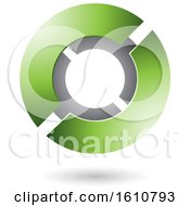 Poster, Art Print Of Green And Gray Futuristic Sphere