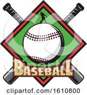 Poster, Art Print Of Baseball Design