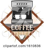 Espresso Machine With Text