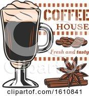 Tall Coffee Glass
